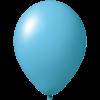 Palloncini con stampa   Ø 33 cm   Economici   Lattice organico   9485951 blu chiaro