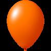Palloncini con stampa   Ø 33 cm   Economici   Lattice organico   9485951 arancia