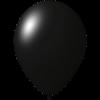 Palloncini con stampa   Ø 33 cm   Economici   Lattice organico   9485951 nero