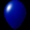 Palloncini con stampa   Ø 33 cm   Consegna veloce   9485951s blu scuro
