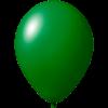 Palloncini con stampa   Ø 33 cm   Consegna veloce   9485951s verde scuro