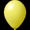 Palloncini con stampa   Ø 33 cm   Consegna veloce   9485951s giallo chiaro