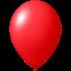 Palloncini con stampa   Ø 33 cm   Consegna veloce   9485951s rosso
