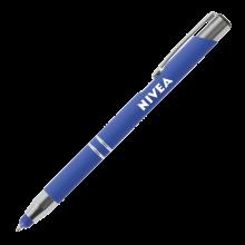 Penna a sfera | Soft touch | Manica morbida | 72123004 Blu scuro