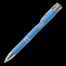 Penna a sfera | Soft touch | Manica morbida | 72123004 Blu chiaro