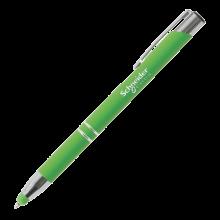 Penna a sfera | Soft touch | Manica morbida | 72123004 Verde chiaro