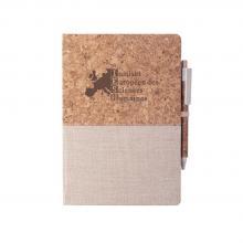 Quaderni  | Sughero naturale e cotone | Penna a sfera | A5