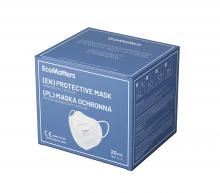 Maschera viso 5 strati   Stampata a colori   FFP2   max169