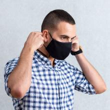 Maschera viso | Riutilizzabile | Doppio strato | 152604