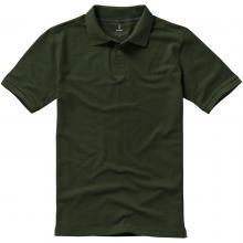 Polo da uomo | 200 grammi di cotone | Lusso | 9238080 Verde militare
