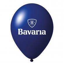 Palloncini con stampa | Ø 35 cm | Lattice organico | 94901001 Blu scuro