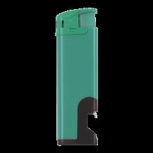 Accendino elettronico | Apribottiglie | Ricaricabile | 72420632 Verde