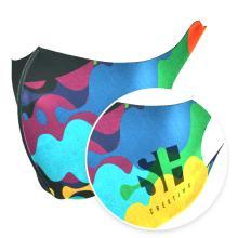 Maschera viso 1 strato | Scuba | Riutilizzabile | Comfort