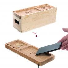 Rackpack Juice Box  scatola per vino con caricabatterie senza fili