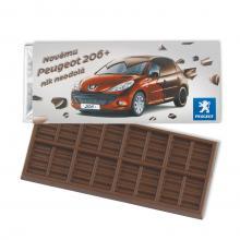 Barretta di cioccolato 50 grammi | Latte / Fondente