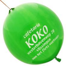 Palloncino con elastico | Ø 45 cm | Extra large | 947003 Verde
