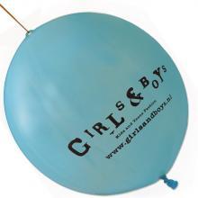 Palloncino con elastico | Ø 45 cm | Extra large | 947003 Blu chiaro
