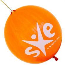 Palloncino con elastico | Ø 45 cm | Extra large | 947003 Arancia