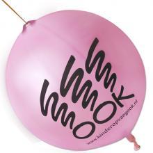 Palloncino con elastico | Ø 45 cm | Extra large | 947003 Rosa