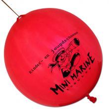 Palloncino con elastico | Ø 45 cm | Extra large | 947003 Rosso