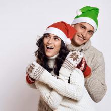 Cappelli di Natale   Vari colori   In poliestere   158622