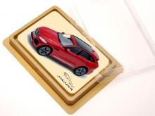 Cioccolato a forma di carta di credito con stampa a colori
