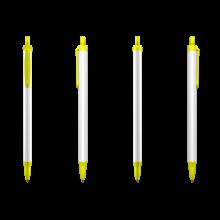 Penna a sfera | BIC | Clic Stic Digital | 771882 Giallo