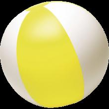Pallone da spiaggia   Superficie bianca   26 cm   Consegna veloce   8039620 Giallo