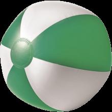 Pallone da spiaggia   Superficie bianca   26 cm   Consegna veloce   8039620 Verde
