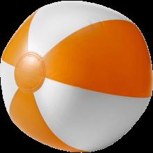 Pallone da spiaggia   Superficie bianca   26 cm   Consegna veloce   8039620 Arancia
