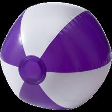 Pallone da spiaggia   Superficie bianca   26 cm   Consegna veloce   8039620 Viola