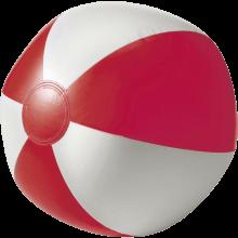Pallone da spiaggia   Superficie bianca   26 cm   Consegna veloce   8039620 Rosso