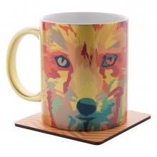 Tazza | Metallica | Ceramica | Full color | 300 ml