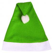 Cappelli di Natale   Vari colori   In poliestere   158622 Verde