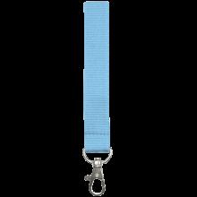 Lanyard   25 mm   Con gancio   87325mm1 Blu chiaro