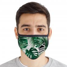 Maschera viso | 2 strati | Riutilizzabile | 8753004