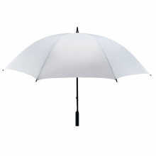 Ombrello Antivento | Chiusura a velcro | Ø 130 cm | 8755187 Bianco