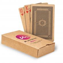 Carte da gioco in carta riciclata   Scatola stampata   Colore pieno