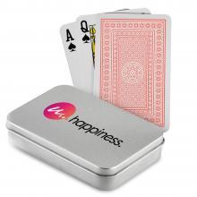 Carte da gioco   Scatola di latta stampata   Classico