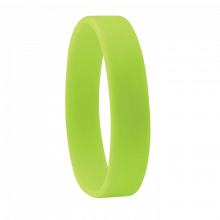 Bracciale in silicone   190 x 10 mm   Consegna rapida   8798913 Lime