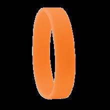 Bracciale in silicone   190 x 10 mm   Consegna rapida   8798913 Arancia