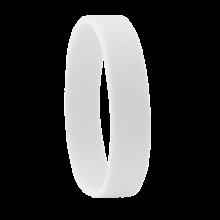 Bracciale in silicone   190 x 10 mm   Consegna rapida   8798913 Bianco