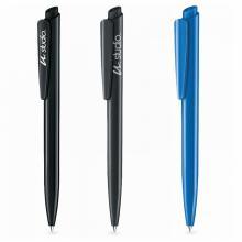 Penna a sfera | Dart base lucido | Inchiostro blu o nero