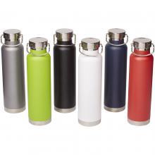 Bottiglia | Acciaio inox | 650 ml | A tenuta stagna | 92100488 Nero