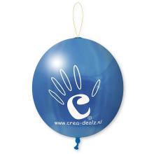 Palloncino con elastico | Ø 45 cm | Extra large | 947003 Blu