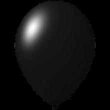 Palloncini con stampa | Ø 33 cm | Economici | Lattice organico | 9485951 Nero