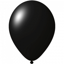 Palloncini con stampa   Ø 33 cm   Consegna veloce   9485951s Nero