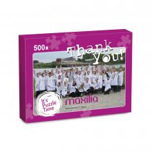 Puzzle con il tuo design | 500 pezzi | In scatola A4 | Max500