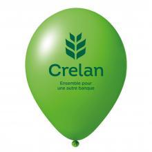 Palloncini con stampa | Ø 35 cm | Lattice organico | 94901001 Verde medio