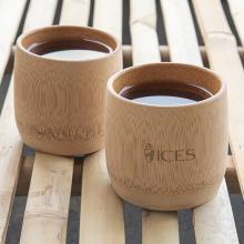 Bicchiere di bambù fatto a mano